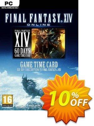 Final Fantasy XIV 14: A Realm Reborn 60 Day Time Card PC (US) Coupon discount Final Fantasy XIV 14: A Realm Reborn 60 Day Time Card PC (US) Deal 2021 CDkeys