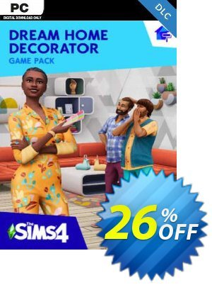 The Sims 4 - Dream Home Decorator Pack PC - DLC discount coupon The Sims 4 - Dream Home Decorator Pack PC - DLC Deal 2021 CDkeys - The Sims 4 - Dream Home Decorator Pack PC - DLC Exclusive Sale offer for iVoicesoft