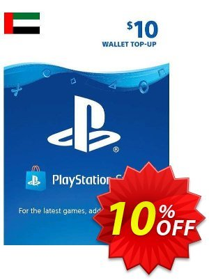 PlayStation Network (PSN) Card - 10 USD (UAE) Coupon discount PlayStation Network (PSN) Card - 10 USD (UAE) Deal 2021 CDkeys