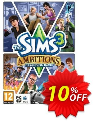 The Sims 3: Ambitions (PC/Mac) discount coupon The Sims 3: Ambitions (PC/Mac) Deal - The Sims 3: Ambitions (PC/Mac) Exclusive offer for iVoicesoft