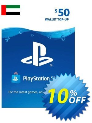 PlayStation Network (PSN) Card - 50 USD (UAE) Coupon discount PlayStation Network (PSN) Card - 50 USD (UAE) Deal 2021 CDkeys