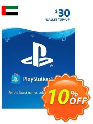 PlayStation Network (PSN) Card - 30 USD (UAE) 優惠券,折扣碼 PlayStation Network (PSN) Card - 30 USD (UAE) Deal 2021 CDkeys,促銷代碼: PlayStation Network (PSN) Card - 30 USD (UAE) Exclusive Sale offer for iVoicesoft