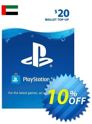 PlayStation Network (PSN) Card - 20 USD (UAE) discount coupon PlayStation Network (PSN) Card - 20 USD (UAE) Deal 2021 CDkeys - PlayStation Network (PSN) Card - 20 USD (UAE) Exclusive Sale offer for iVoicesoft