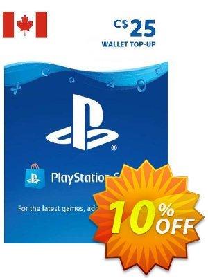 PlayStation Network (PSN) Card - 25 CAD (CANADA) Coupon discount PlayStation Network (PSN) Card - 25 CAD (CANADA) Deal 2021 CDkeys
