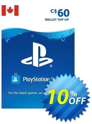 PlayStation Network (PSN) Card - 60 CAD (CANADA) 優惠券,折扣碼 PlayStation Network (PSN) Card - 60 CAD (CANADA) Deal 2021 CDkeys,促銷代碼: PlayStation Network (PSN) Card - 60 CAD (CANADA) Exclusive Sale offer for iVoicesoft