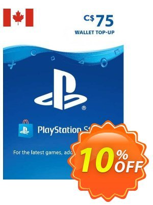 PlayStation Network (PSN) Card - 75 CAD (CANADA) 優惠券,折扣碼 PlayStation Network (PSN) Card - 75 CAD (CANADA) Deal 2021 CDkeys,促銷代碼: PlayStation Network (PSN) Card - 75 CAD (CANADA) Exclusive Sale offer for iVoicesoft