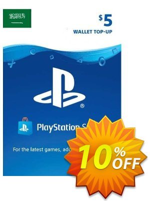 PlayStation Network (PSN) Card - 5 USD (KSA) discount coupon PlayStation Network (PSN) Card - 5 USD (KSA) Deal 2021 CDkeys - PlayStation Network (PSN) Card - 5 USD (KSA) Exclusive Sale offer for iVoicesoft