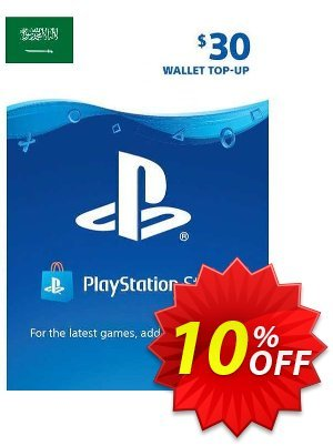 PlayStation Network (PSN) Card - 30 USD (KSA) discount coupon PlayStation Network (PSN) Card - 30 USD (KSA) Deal 2021 CDkeys - PlayStation Network (PSN) Card - 30 USD (KSA) Exclusive Sale offer for iVoicesoft
