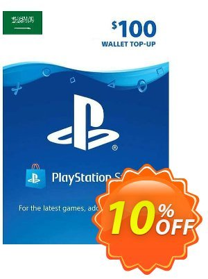 PlayStation Network (PSN) Card - 100 USD (KSA) discount coupon PlayStation Network (PSN) Card - 100 USD (KSA) Deal 2021 CDkeys - PlayStation Network (PSN) Card - 100 USD (KSA) Exclusive Sale offer for iVoicesoft