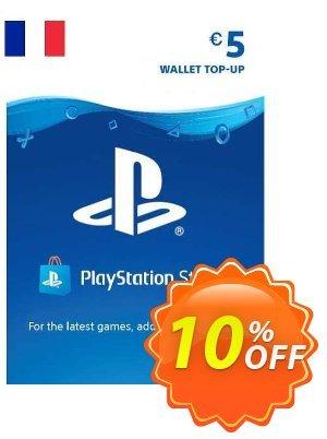 PlayStation Network (PSN) Card - 5 EUR (FRANCE) 優惠券,折扣碼 PlayStation Network (PSN) Card - 5 EUR (FRANCE) Deal 2021 CDkeys,促銷代碼: PlayStation Network (PSN) Card - 5 EUR (FRANCE) Exclusive Sale offer for iVoicesoft