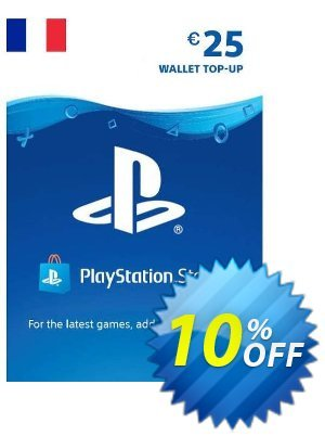 PlayStation Network (PSN) Card - 25 EUR (FRANCE) discount coupon PlayStation Network (PSN) Card - 25 EUR (FRANCE) Deal 2021 CDkeys - PlayStation Network (PSN) Card - 25 EUR (FRANCE) Exclusive Sale offer for iVoicesoft