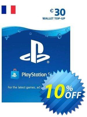 PlayStation Network (PSN) Card - 30 EUR (FRANCE) 優惠券,折扣碼 PlayStation Network (PSN) Card - 30 EUR (FRANCE) Deal 2021 CDkeys,促銷代碼: PlayStation Network (PSN) Card - 30 EUR (FRANCE) Exclusive Sale offer for iVoicesoft