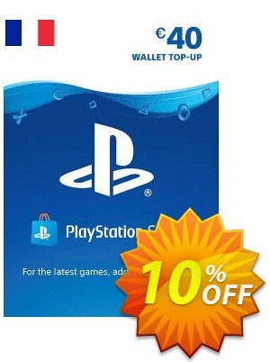 PlayStation Network (PSN) Card - 40 EUR (FRANCE) discount coupon PlayStation Network (PSN) Card - 40 EUR (FRANCE) Deal 2021 CDkeys - PlayStation Network (PSN) Card - 40 EUR (FRANCE) Exclusive Sale offer for iVoicesoft