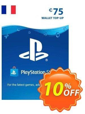 PlayStation Network (PSN) Card - 75 EUR (FRANCE) Coupon discount PlayStation Network (PSN) Card - 75 EUR (FRANCE) Deal 2021 CDkeys