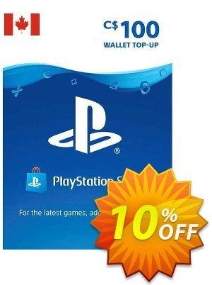 PlayStation Network (PSN) Card - 100 CAD (CANADA) Coupon discount PlayStation Network (PSN) Card - 100 CAD (CANADA) Deal 2021 CDkeys