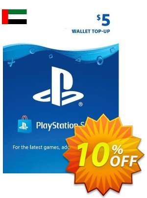 PlayStation Network (PSN) Card - 5 USD (UAE) Coupon discount PlayStation Network (PSN) Card - 5 USD (UAE) Deal 2021 CDkeys