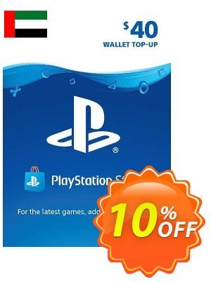 PlayStation Network (PSN) Card - 40 USD (UAE) 優惠券,折扣碼 PlayStation Network (PSN) Card - 40 USD (UAE) Deal 2021 CDkeys,促銷代碼: PlayStation Network (PSN) Card - 40 USD (UAE) Exclusive Sale offer for iVoicesoft