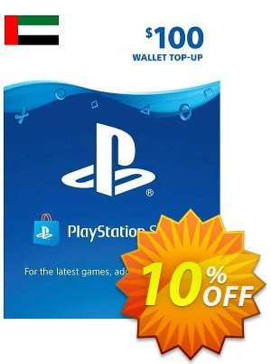 PlayStation Network (PSN) Card - 100 USD (UAE) Coupon discount PlayStation Network (PSN) Card - 100 USD (UAE) Deal 2021 CDkeys
