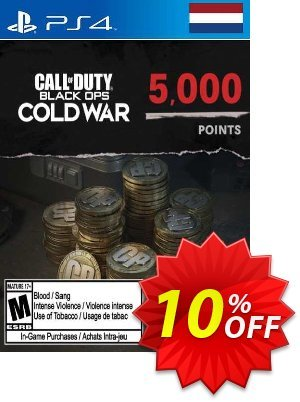 Call of Duty: Black Ops Cold War - 5000 Points PS4/PS5 (Netherlands) Coupon discount Call of Duty: Black Ops Cold War - 5000 Points PS4/PS5 (Netherlands) Deal 2021 CDkeys