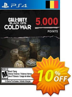 Call of Duty: Black Ops Cold War - 5000 Points PS4/PS5 (Belgium) Coupon discount Call of Duty: Black Ops Cold War - 5000 Points PS4/PS5 (Belgium) Deal 2021 CDkeys