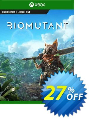 Biomutant Xbox One (WW) discount coupon Biomutant Xbox One (WW) Deal 2021 CDkeys - Biomutant Xbox One (WW) Exclusive Sale offer for iVoicesoft