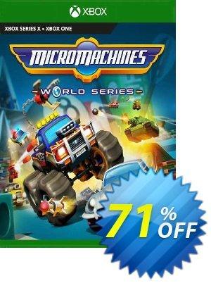 Micro Machines World Series Xbox One (UK) Coupon discount Micro Machines World Series Xbox One (UK) Deal 2021 CDkeys