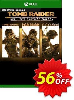 Tomb Raider Definitive Survivor Trilogy Xbox One (UK) Coupon discount Tomb Raider Definitive Survivor Trilogy Xbox One (UK) Deal 2021 CDkeys