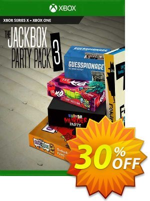 The Jackbox Party Pack 3 Xbox One (UK) discount coupon The Jackbox Party Pack 3 Xbox One (UK) Deal 2021 CDkeys - The Jackbox Party Pack 3 Xbox One (UK) Exclusive Sale offer for iVoicesoft