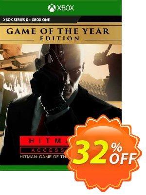 Hitman 3 Access Pass:  Hitman 1 GOTY Edition Xbox One (UK) Coupon discount Hitman 3 Access Pass:  Hitman 1 GOTY Edition Xbox One (UK) Deal 2021 CDkeys