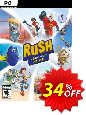 RUSH: A Disney • PIXAR Adventure PC割引コード・RUSH: A Disney • PIXAR Adventure PC Deal キャンペーン:RUSH: A Disney • PIXAR Adventure PC Exclusive offer for iVoicesoft