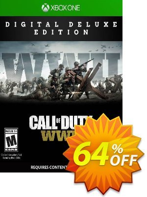 Call of Duty WWII - Digital Deluxe Xbox One (UK) 優惠券,折扣碼 Call of Duty WWII - Digital Deluxe Xbox One (UK) Deal 2021 CDkeys,促銷代碼: Call of Duty WWII - Digital Deluxe Xbox One (UK) Exclusive Sale offer for iVoicesoft
