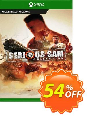 Serious Sam Collection Xbox One (UK) 優惠券,折扣碼 Serious Sam Collection Xbox One (UK) Deal 2021 CDkeys,促銷代碼: Serious Sam Collection Xbox One (UK) Exclusive Sale offer for iVoicesoft