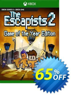 The Escapists 2 - GOTY Xbox One (UK) Coupon discount The Escapists 2 - GOTY Xbox One (UK) Deal 2021 CDkeys