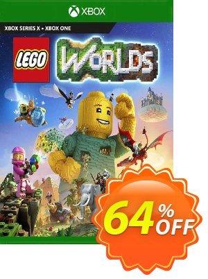 Lego Worlds Xbox One (US) 優惠券,折扣碼 Lego Worlds Xbox One (US) Deal 2021 CDkeys,促銷代碼: Lego Worlds Xbox One (US) Exclusive Sale offer for iVoicesoft