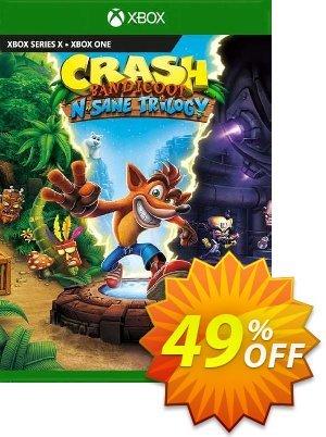 Crash Bandicoot N. Sane Trilogy Xbox One (EU) discount coupon Crash Bandicoot N. Sane Trilogy Xbox One (EU) Deal 2021 CDkeys - Crash Bandicoot N. Sane Trilogy Xbox One (EU) Exclusive Sale offer for iVoicesoft
