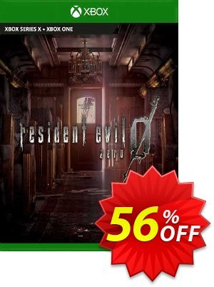 Resident Evil 0 Xbox One (UK) 優惠券,折扣碼 Resident Evil 0 Xbox One (UK) Deal 2021 CDkeys,促銷代碼: Resident Evil 0 Xbox One (UK) Exclusive Sale offer for iVoicesoft