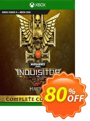 Warhammer 40000: Inquisitor - Martyr Complete Collection Xbox One (UK) 優惠券,折扣碼 Warhammer 40000: Inquisitor - Martyr Complete Collection Xbox One (UK) Deal 2021 CDkeys,促銷代碼: Warhammer 40000: Inquisitor - Martyr Complete Collection Xbox One (UK) Exclusive Sale offer for iVoicesoft