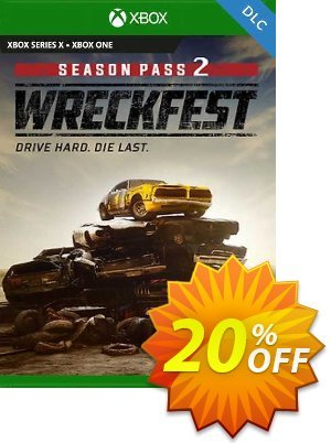 Wreckfest Season Pass 2 Xbox One (UK) discount coupon Wreckfest Season Pass 2 Xbox One (UK) Deal 2021 CDkeys - Wreckfest Season Pass 2 Xbox One (UK) Exclusive Sale offer for iVoicesoft