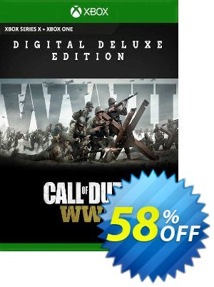 Call of Duty WWII - Digital Deluxe Xbox One (US) discount coupon Call of Duty WWII - Digital Deluxe Xbox One (US) Deal 2021 CDkeys - Call of Duty WWII - Digital Deluxe Xbox One (US) Exclusive Sale offer for iVoicesoft