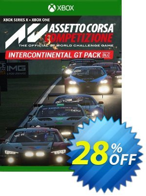 Assetto Corsa Competizione Intercontinental GT Pack Xbox One (UK) discount coupon Assetto Corsa Competizione Intercontinental GT Pack Xbox One (UK) Deal 2021 CDkeys - Assetto Corsa Competizione Intercontinental GT Pack Xbox One (UK) Exclusive Sale offer for iVoicesoft