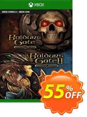 Baldur's Gate and Baldur's Gate II: Enhanced Editions Xbox One (UK) 優惠券,折扣碼 Baldur's Gate and Baldur's Gate II: Enhanced Editions Xbox One (UK) Deal 2021 CDkeys,促銷代碼: Baldur's Gate and Baldur's Gate II: Enhanced Editions Xbox One (UK) Exclusive Sale offer for iVoicesoft