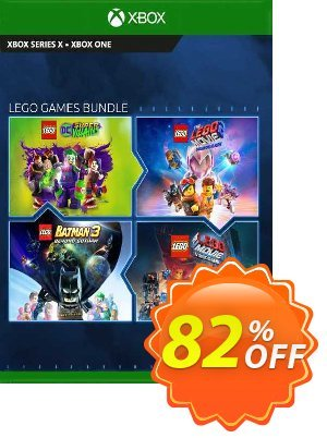 The LEGO Games Bundle Xbox One (US) 優惠券,折扣碼 The LEGO Games Bundle Xbox One (US) Deal 2021 CDkeys,促銷代碼: The LEGO Games Bundle Xbox One (US) Exclusive Sale offer for iVoicesoft