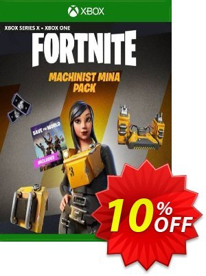 Fortnite - Machinist Mina Pack Xbox One (US) 優惠券,折扣碼 Fortnite - Machinist Mina Pack Xbox One (US) Deal 2021 CDkeys,促銷代碼: Fortnite - Machinist Mina Pack Xbox One (US) Exclusive Sale offer for iVoicesoft