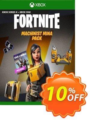 Fortnite - Machinist Mina Pack Xbox One (EU) 優惠券,折扣碼 Fortnite - Machinist Mina Pack Xbox One (EU) Deal 2021 CDkeys,促銷代碼: Fortnite - Machinist Mina Pack Xbox One (EU) Exclusive Sale offer for iVoicesoft