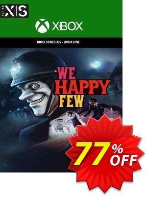 We Happy Few Xbox One (UK) 優惠券,折扣碼 We Happy Few Xbox One (UK) Deal 2021 CDkeys,促銷代碼: We Happy Few Xbox One (UK) Exclusive Sale offer for iVoicesoft