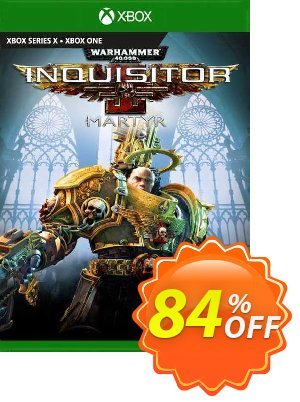 Warhammer 40000: Inquisitor - Martyr Xbox One (UK) Coupon discount Warhammer 40000: Inquisitor - Martyr Xbox One (UK) Deal 2021 CDkeys