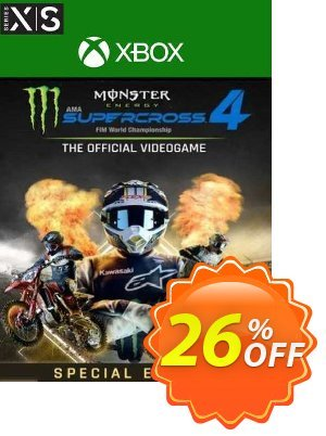 Monster Energy Supercross 4 Special Edition Xbox Series X|S (UK) discount coupon Monster Energy Supercross 4 Special Edition Xbox Series X|S (UK) Deal 2021 CDkeys - Monster Energy Supercross 4 Special Edition Xbox Series X|S (UK) Exclusive Sale offer for iVoicesoft