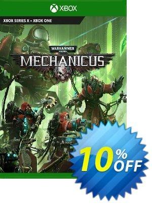 Warhammer 40,000: Mechanicus Xbox One (UK) Coupon discount Warhammer 40,000: Mechanicus Xbox One (UK) Deal 2021 CDkeys