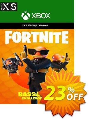 Fortnite - Bassassin Challenge Pack Xbox One (US) Coupon discount Fortnite - Bassassin Challenge Pack Xbox One (US) Deal 2021 CDkeys
