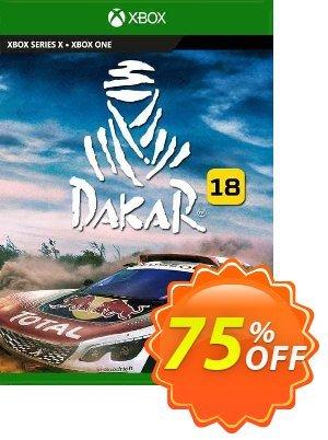 Dakar 18 Xbox One (UK) Coupon discount Dakar 18 Xbox One (UK) Deal 2021 CDkeys